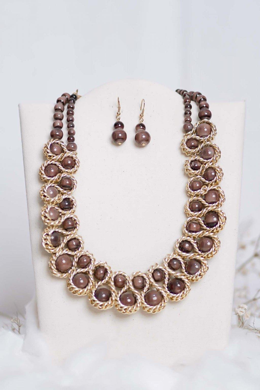 náhrdelník, šperk, spoločenská náhrdelník, náhrdelník na bežný deň, výrazný náhrdelník, jemný náhrdelník, šperky, náhrdelník na ples, svadbu, stužkovú 59