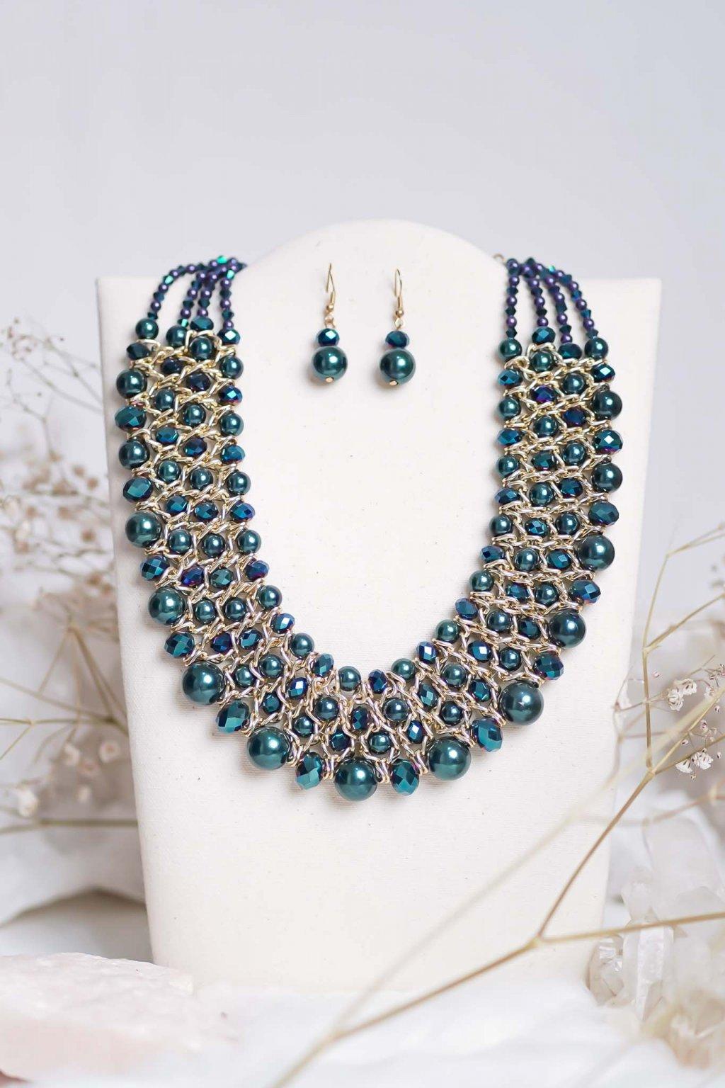 náhrdelník, šperk, spoločenská náhrdelník, náhrdelník na bežný deň, výrazný náhrdelník, jemný náhrdelník, šperky, náhrdelník na ples, svadbu, stužkovú 22