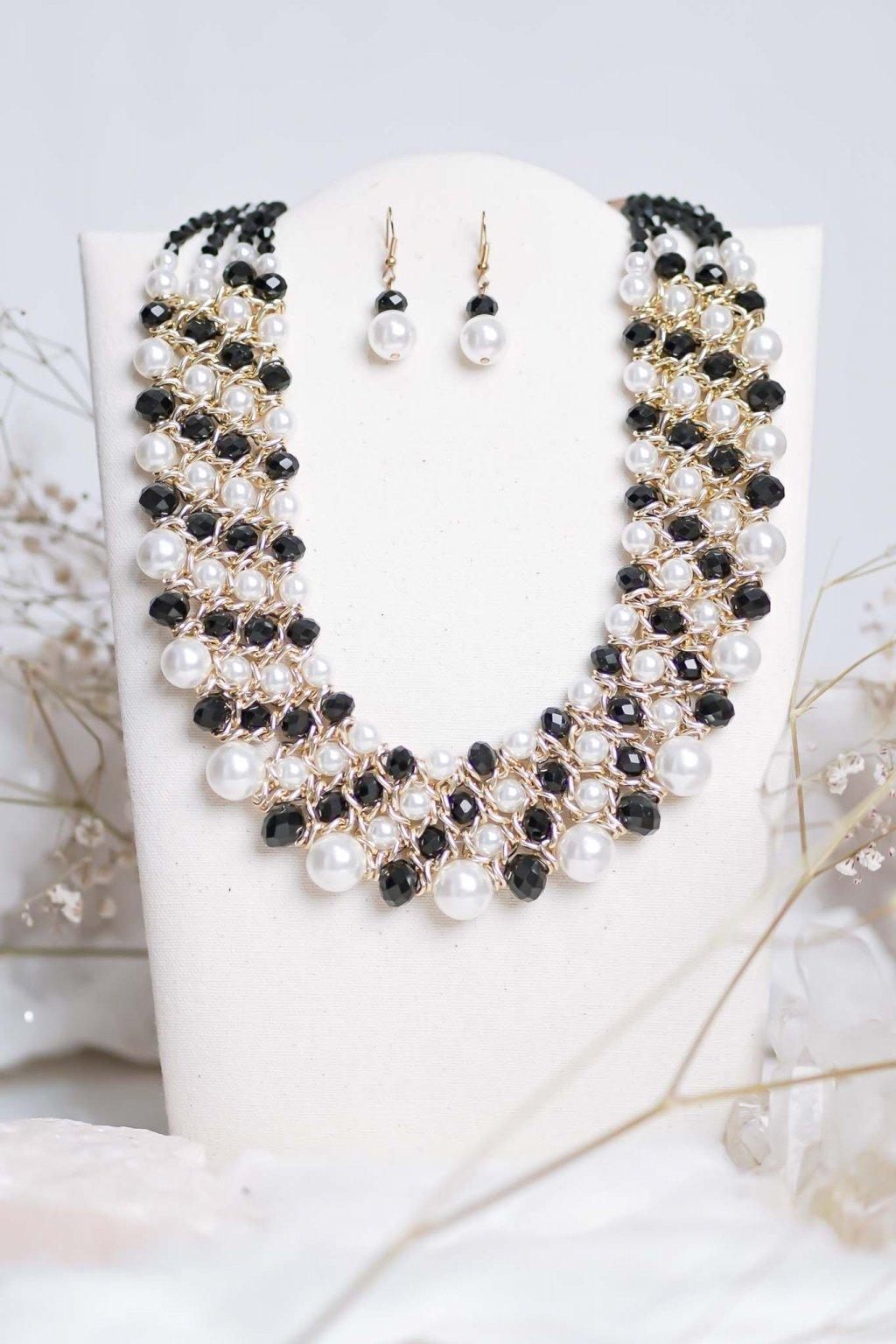 náhrdelník, šperk, spoločenská náhrdelník, náhrdelník na bežný deň, výrazný náhrdelník, jemný náhrdelník, šperky, náhrdelník na ples, svadbu, stužkovú 20