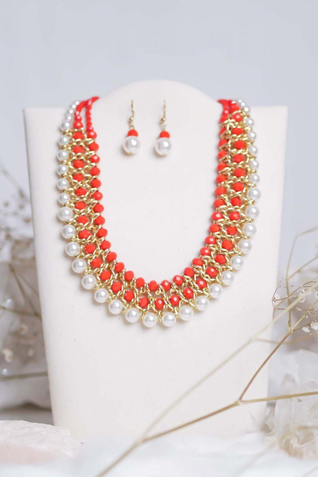 náhrdelník, šperk, spoločenská náhrdelník, náhrdelník na bežný deň, výrazný náhrdelník, jemný náhrdelník, šperky, náhrdelník na ples, svadbu, stužkovú 33