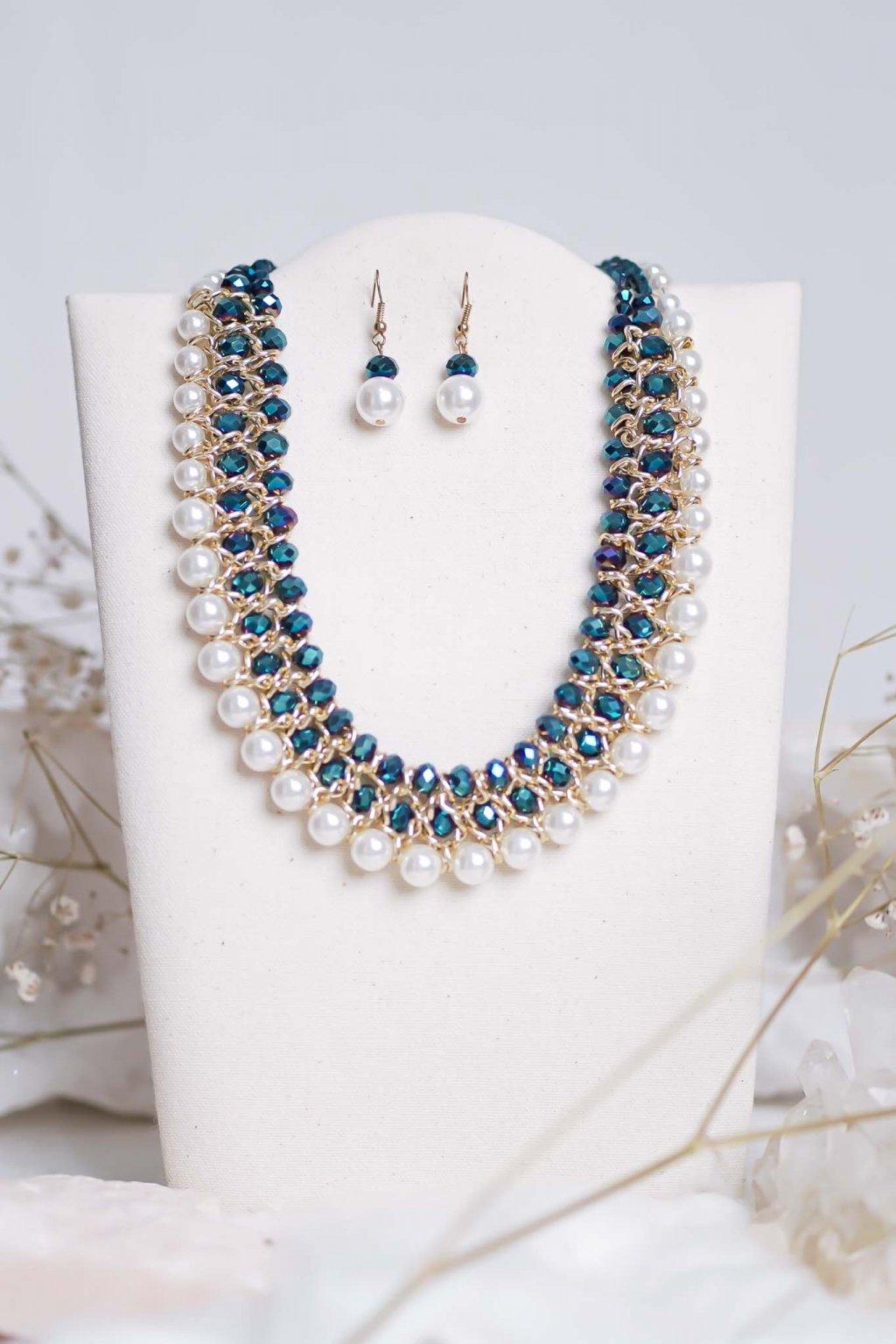 náhrdelník, šperk, spoločenská náhrdelník, náhrdelník na bežný deň, výrazný náhrdelník, jemný náhrdelník, šperky, náhrdelník na ples, svadbu, stužkovú 39