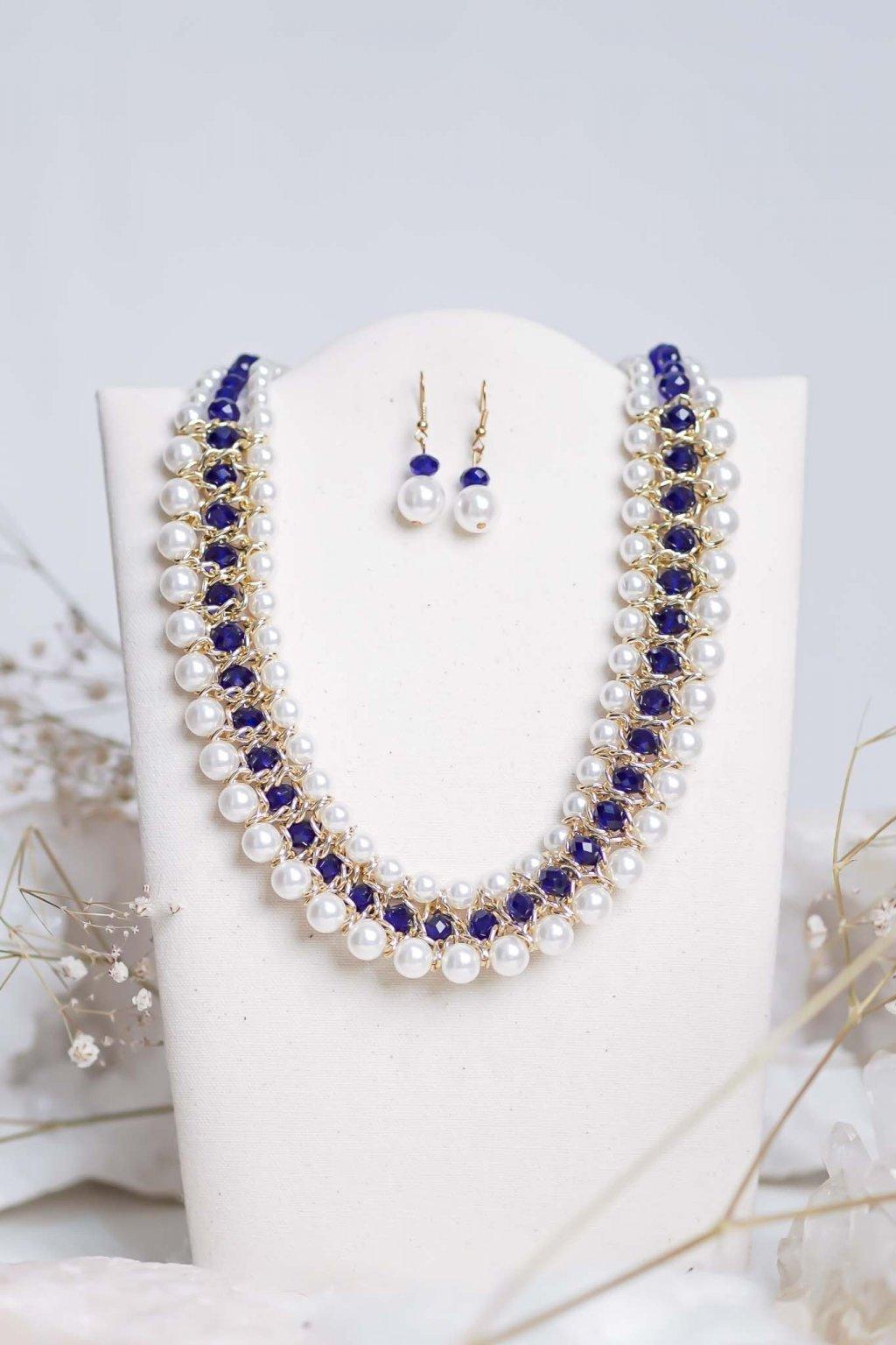 náhrdelník, šperk, spoločenská náhrdelník, náhrdelník na bežný deň, výrazný náhrdelník, jemný náhrdelník, šperky, náhrdelník na ples, svadbu, stužkovú 44