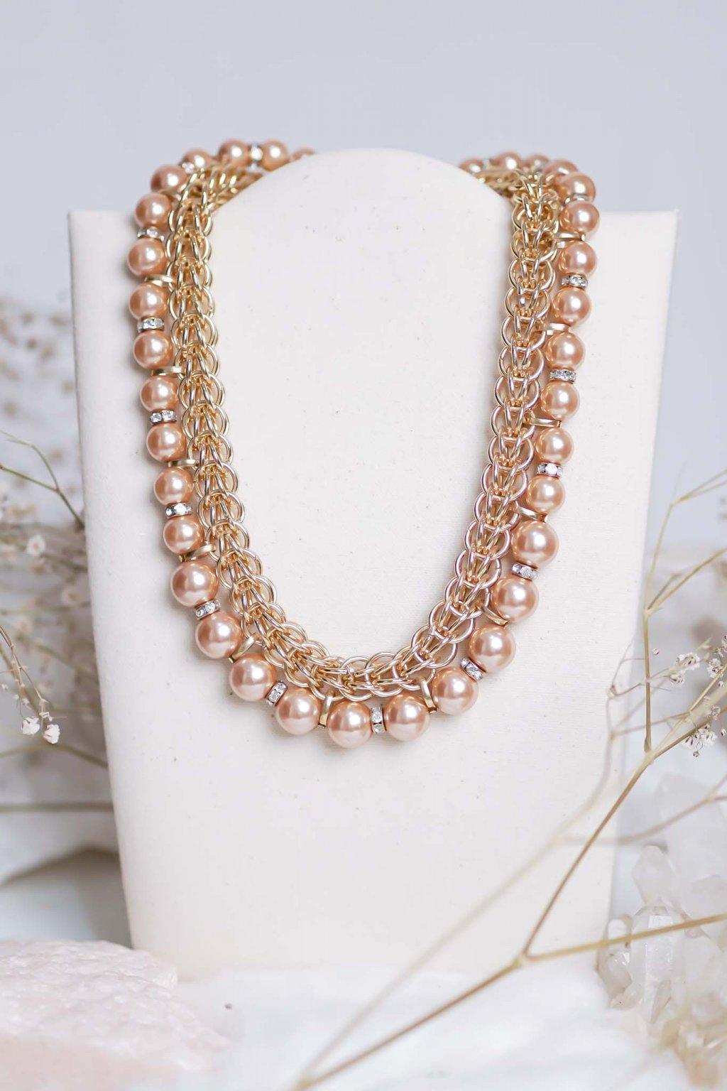 náhrdelník, šperk, spoločenská náhrdelník, náhrdelník na bežný deň, výrazný náhrdelník, jemný náhrdelník, šperky, náhrdelník na ples, svadbu, stužkovú 11