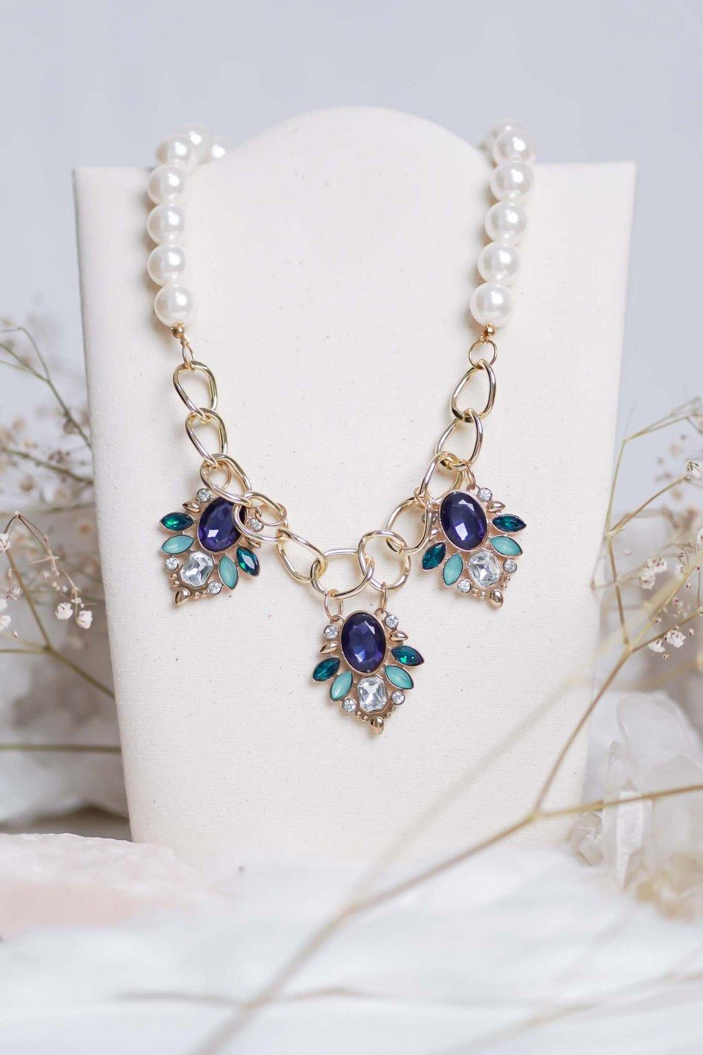 náhrdelník, šperk, spoločenská náhrdelník, náhrdelník na bežný deň, výrazný náhrdelník, jemný náhrdelník, šperky, náhrdelník na ples, svadbu, stužkovú 16