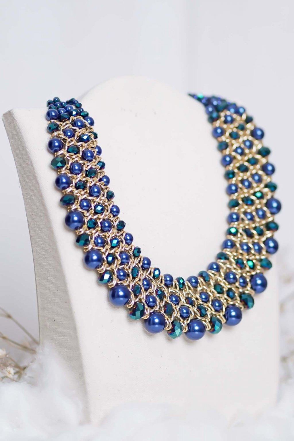 náhrdelník, šperk, spoločenská náhrdelník, náhrdelník na bežný deň, výrazný náhrdelník, jemný náhrdelník, šperky, náhrdelník na ples, svadbu, stužkovú 65