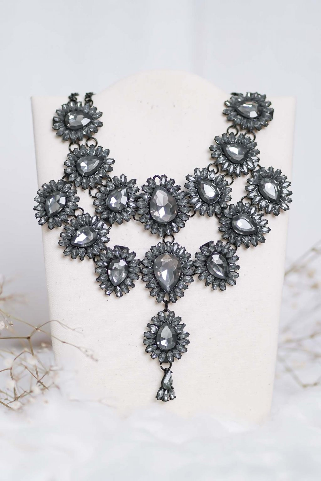 náhrdelník, šperk, spoločenská náhrdelník, náhrdelník na bežný deň, výrazný náhrdelník, jemný náhrdelník, šperky, náhrdelník na ples, svadbu, stužkovú 86