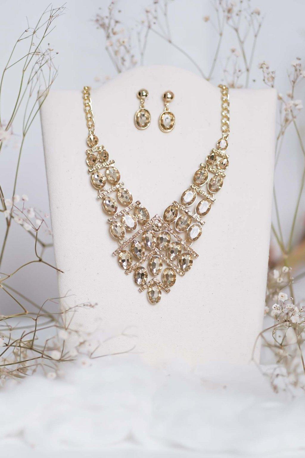 náhrdelník, spoločenský, bežný deň, kamienkový, farebný, čierny, strieborný, zelený, cyklamenévy, náhrdelník, bižuteria, šperk, šperky, ples, stužková, svadba, 059