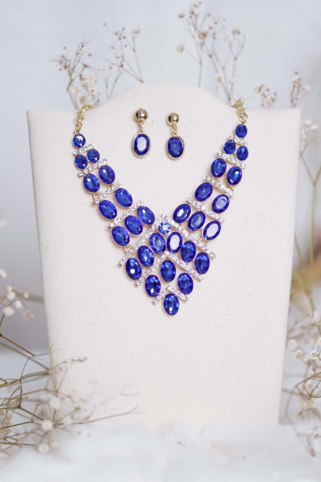 náhrdelník, spoločenský, bežný deň, kamienkový, farebný, čierny, strieborný, zelený, cyklamenévy, náhrdelník, bižuteria, šperk, šperky, ples, stužková, svadba, 067