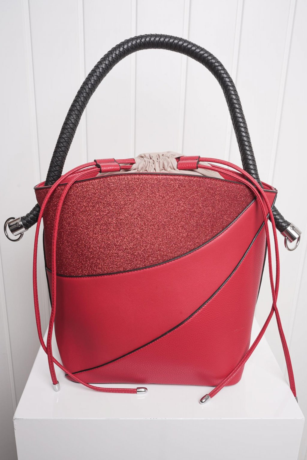 Kabelka, ruksak, dobrá cena, čierna kabelka, čierny ruksak, basic, kabelky, ruksaky 038