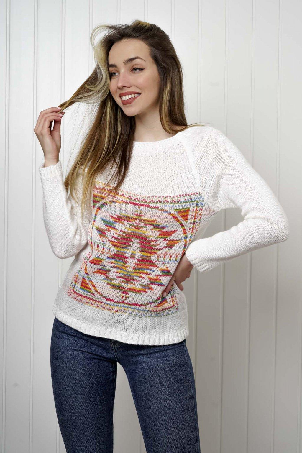 sveter, svetrík, sveter dámsky, úplet, úpletový sveter, jednoduchý sveter, v výstríh, štýlový, chlpatý,vzorovaný, srdiečkový, čierny, biely, farebný, 032