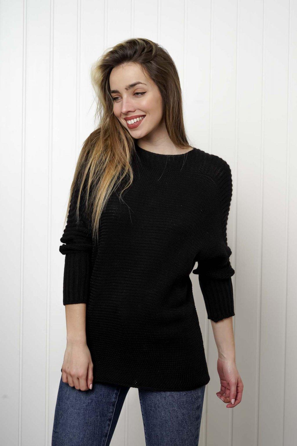 sveter, svetrík, sveter dámsky, úplet, úpletový sveter, jednoduchý sveter, v výstríh, štýlový, chlpatý,vzorovaný, srdiečkový, čierny, biely, farebný, 064