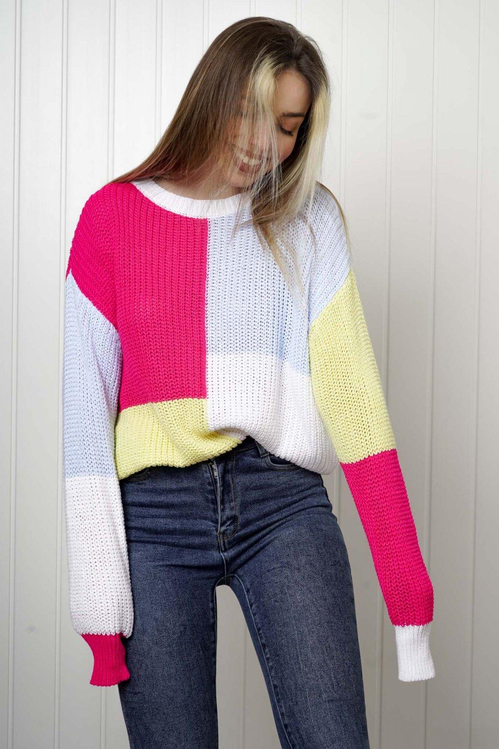 sveter, svetrík, sveter dámsky, úplet, úpletový sveter, jednoduchý sveter, v výstríh, štýlový, chlpatý,vzorovaný, srdiečkový, čierny, biely, farebný, 068