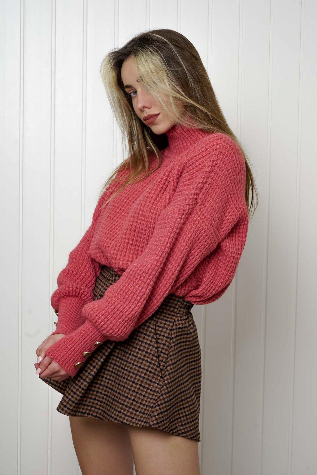 sveter, svetrík, sveter dámsky, úplet, úpletový sveter, jednoduchý sveter, v výstríh, štýlový, chlpatý,vzorovaný, srdiečkový, čierny, biely, farebný, 156