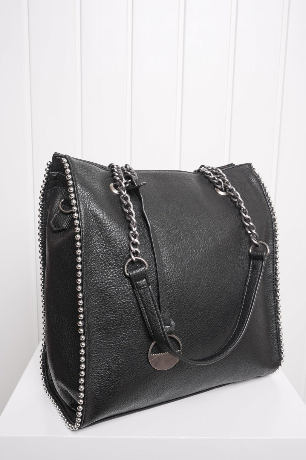 Kabelka, ruksak, dobrá cena, čierna kabelka, čierny ruksak, basic, kabelky, ruksaky 060