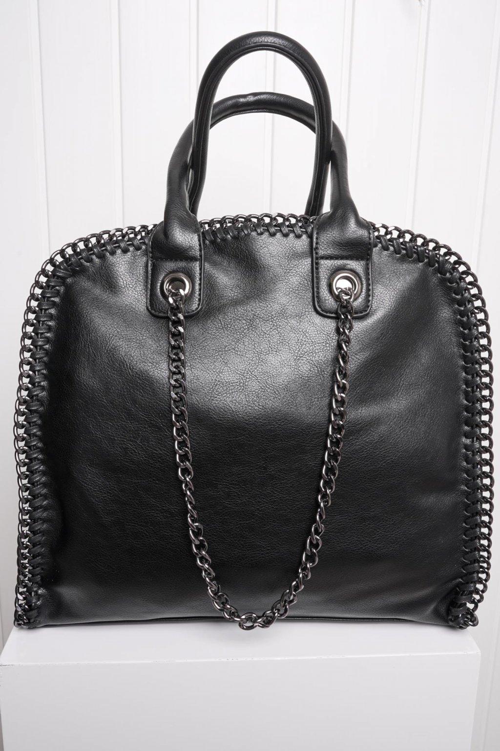 Kabelka, ruksak, dobrá cena, čierna kabelka, čierny ruksak, basic, kabelky, ruksaky 032