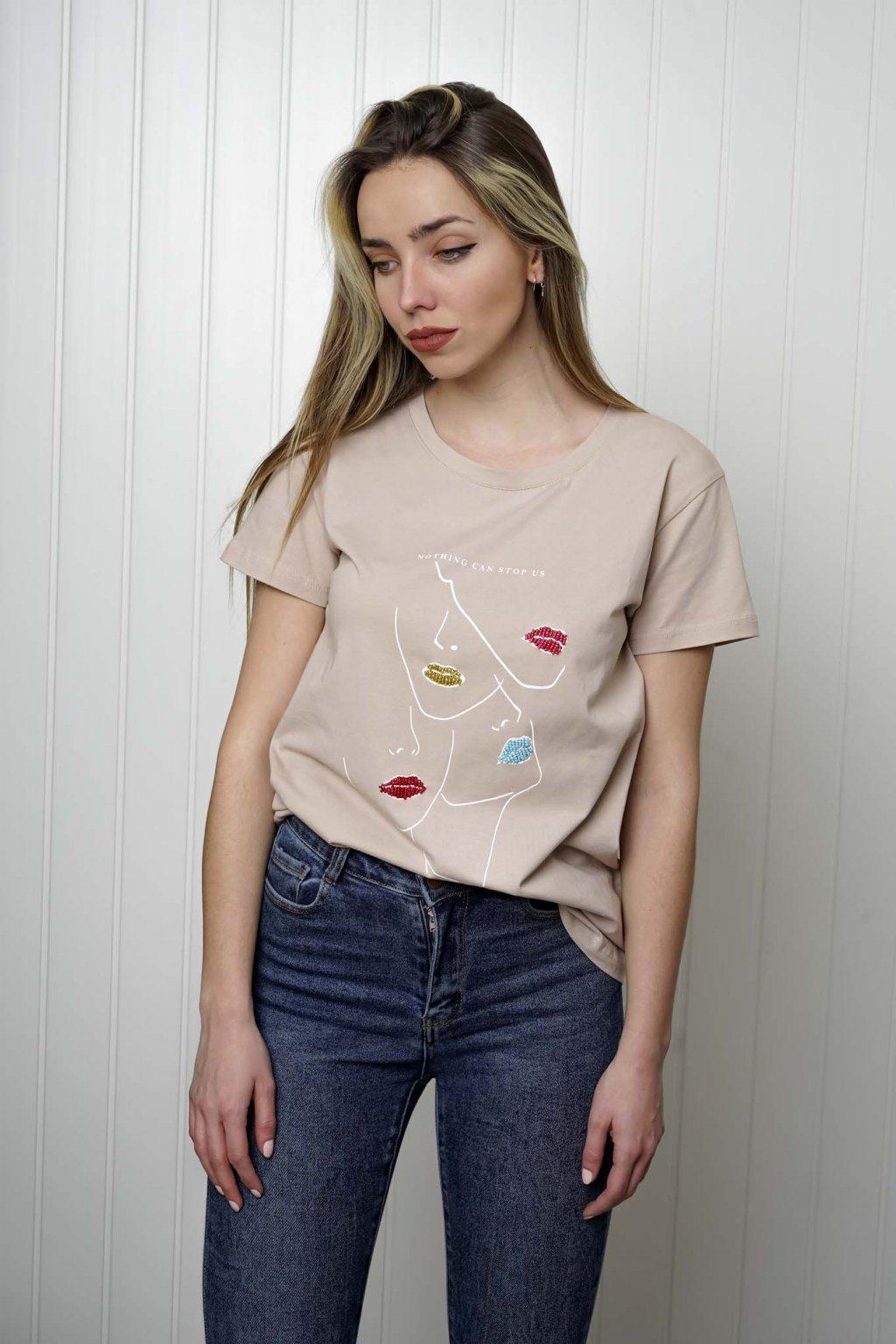 tričko, tričkové šaty, biele, čierne, žlté, vzorované, potlač, vyšívané, nášivky, fialové, street style, 176