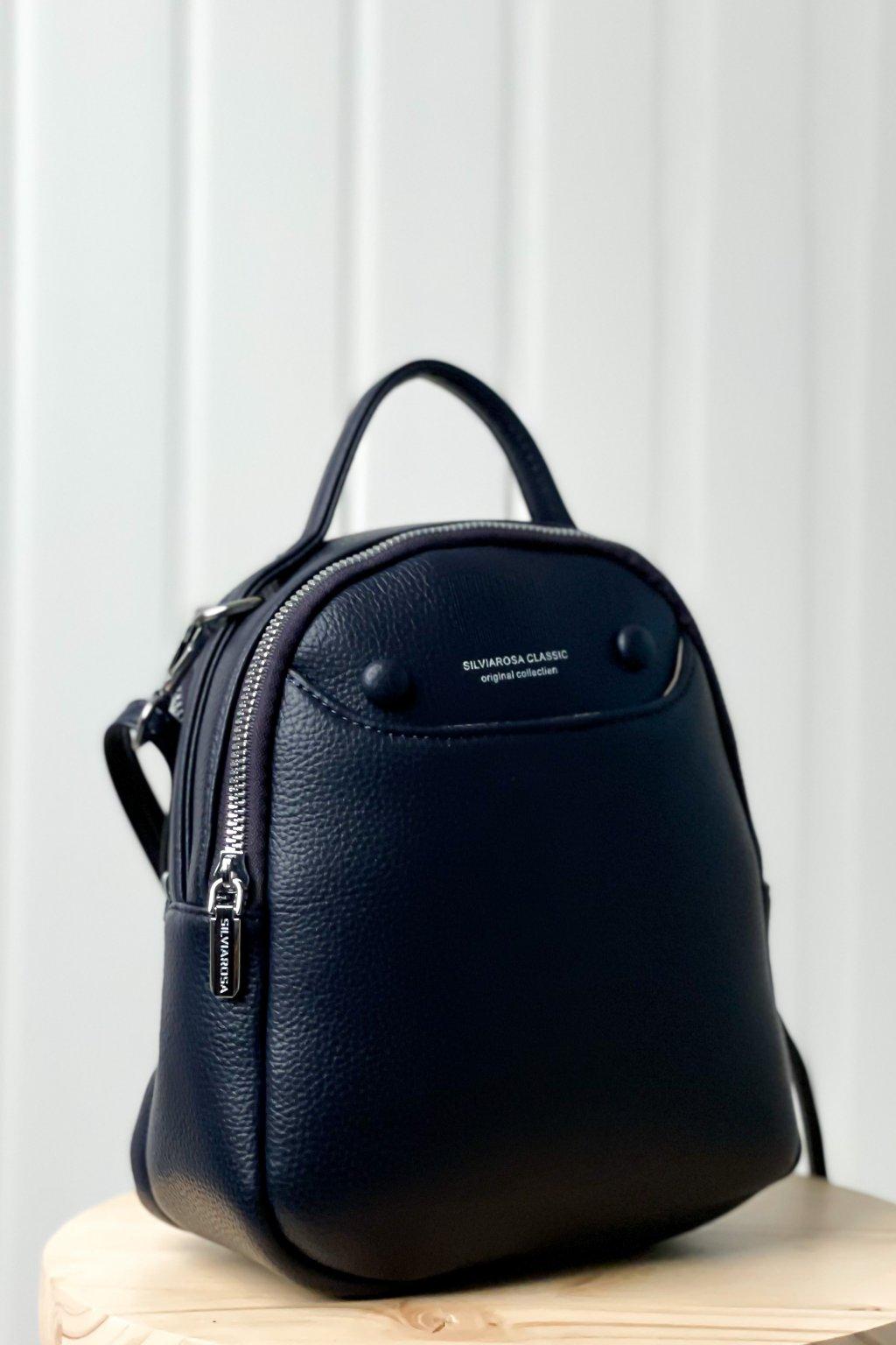 Modrý mini ruksačik