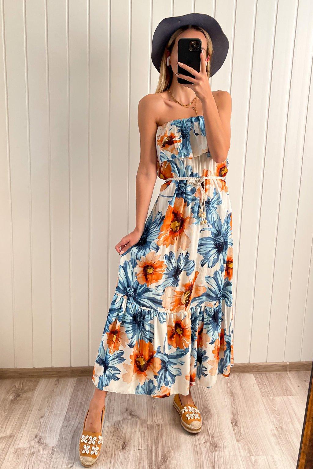 Letné šaty z príjemného materiálu