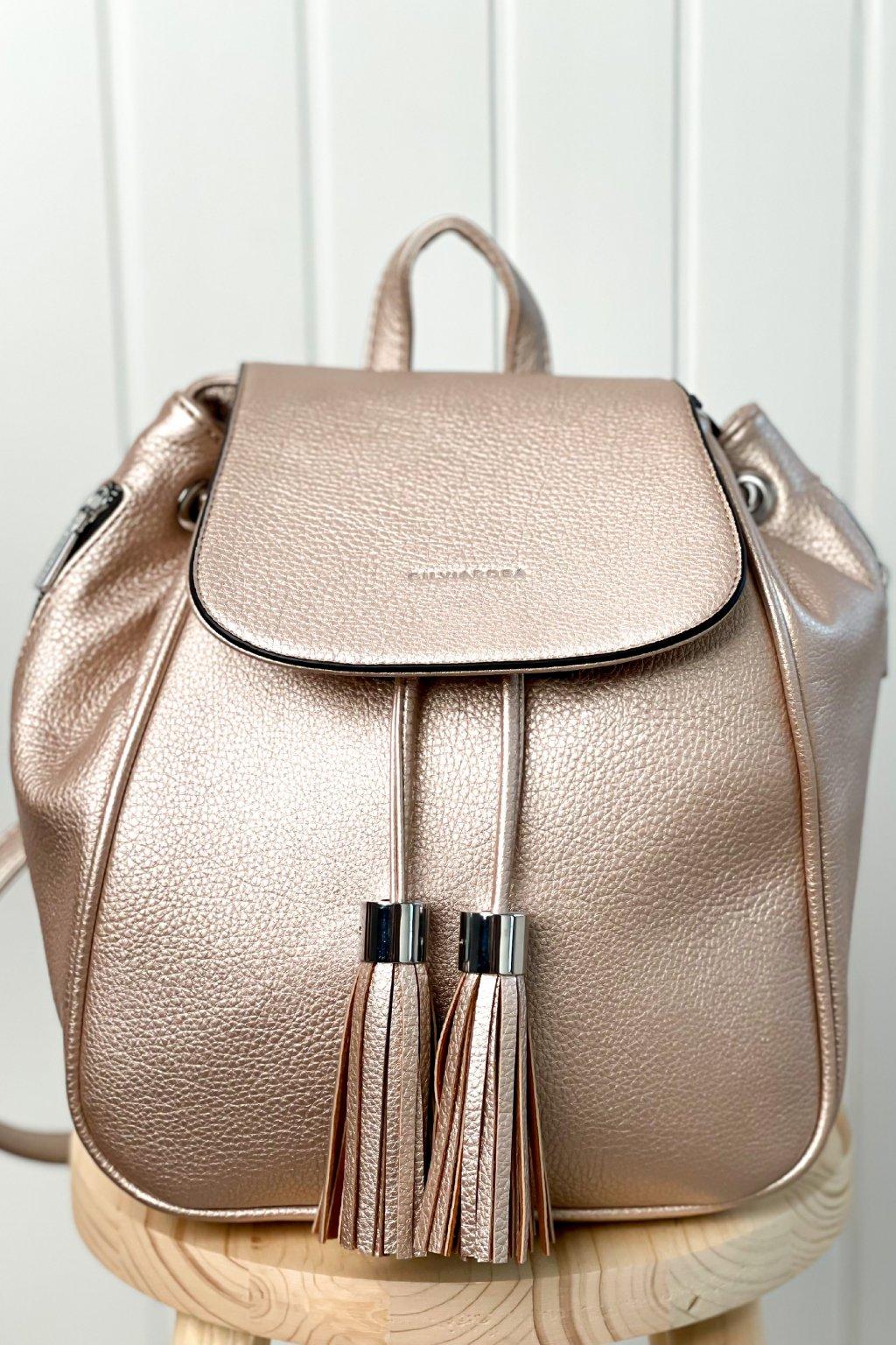 Rose gold ruksak