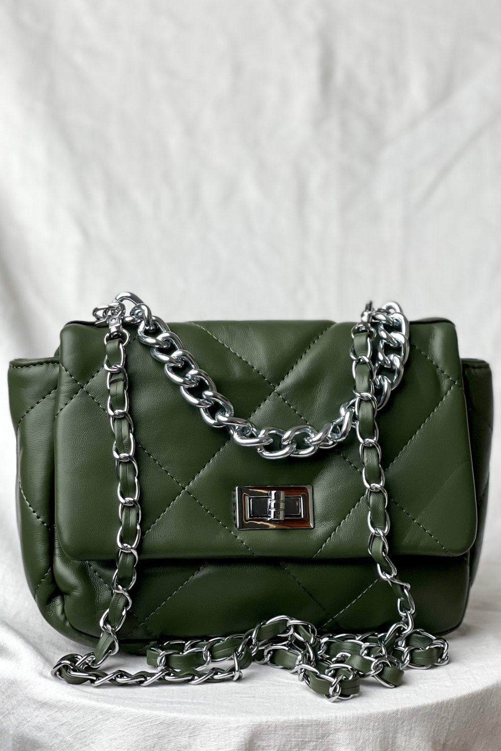 Crossbody kabelka zelená