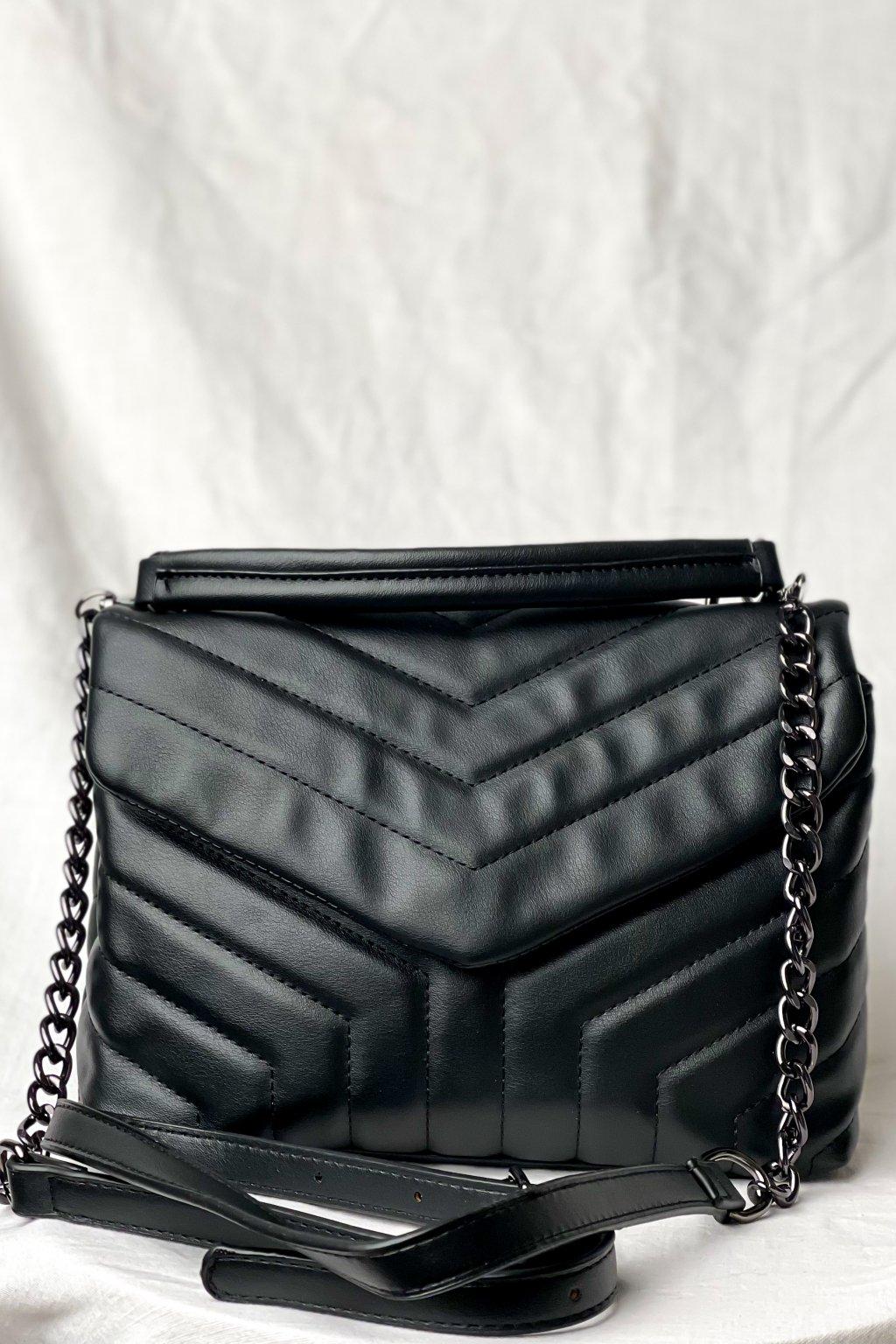 Crossbody kabelka čierna