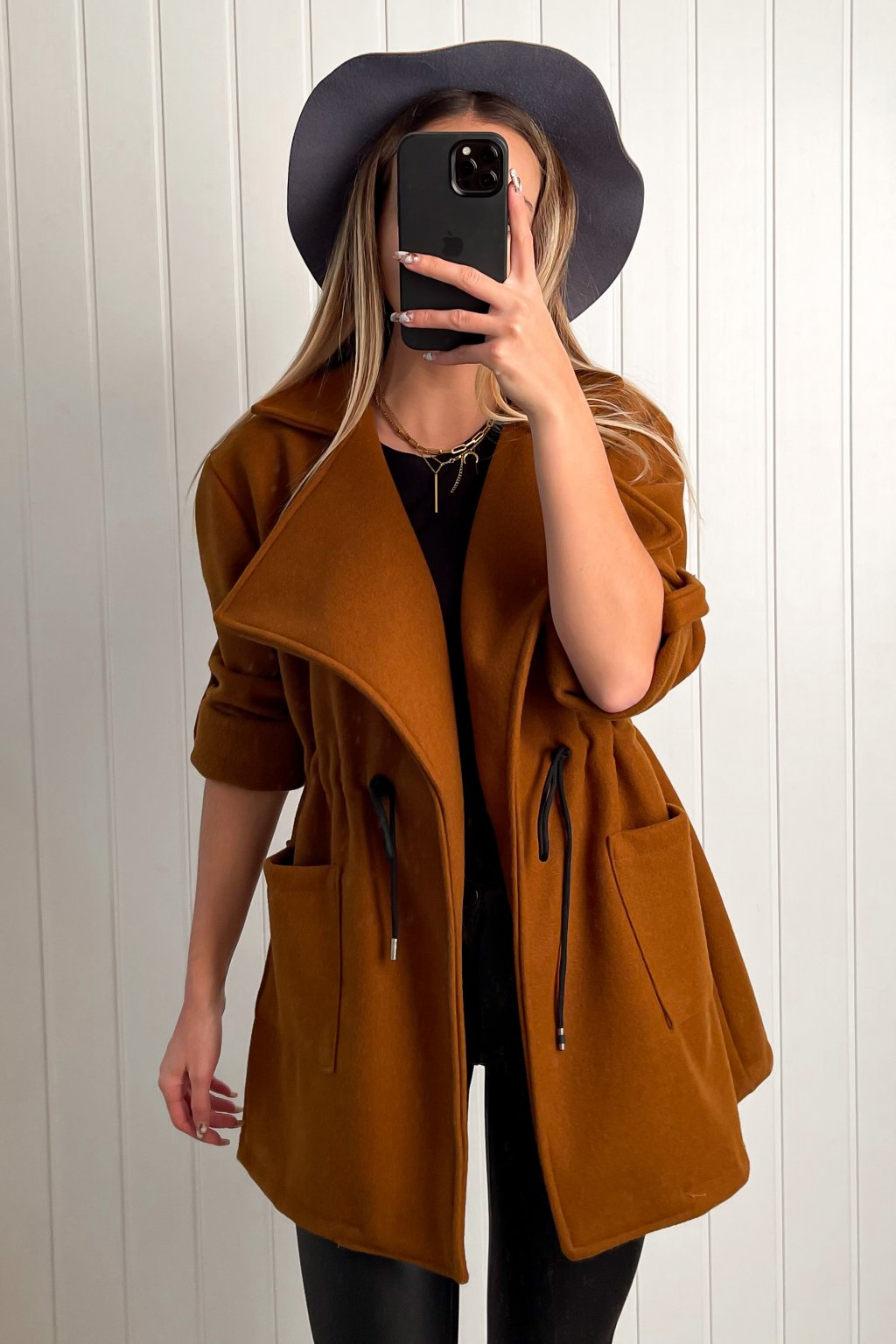 Kabátik s viazaním