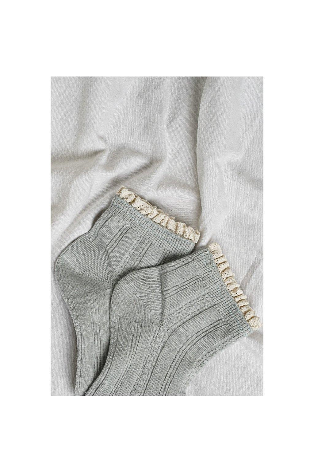 Ponožky modré 1pár