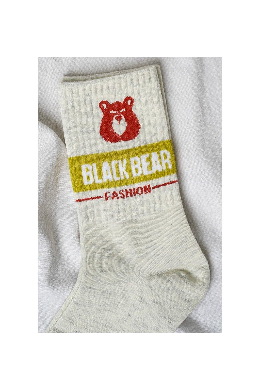 Vysoké bavlnené ponožky s motívom