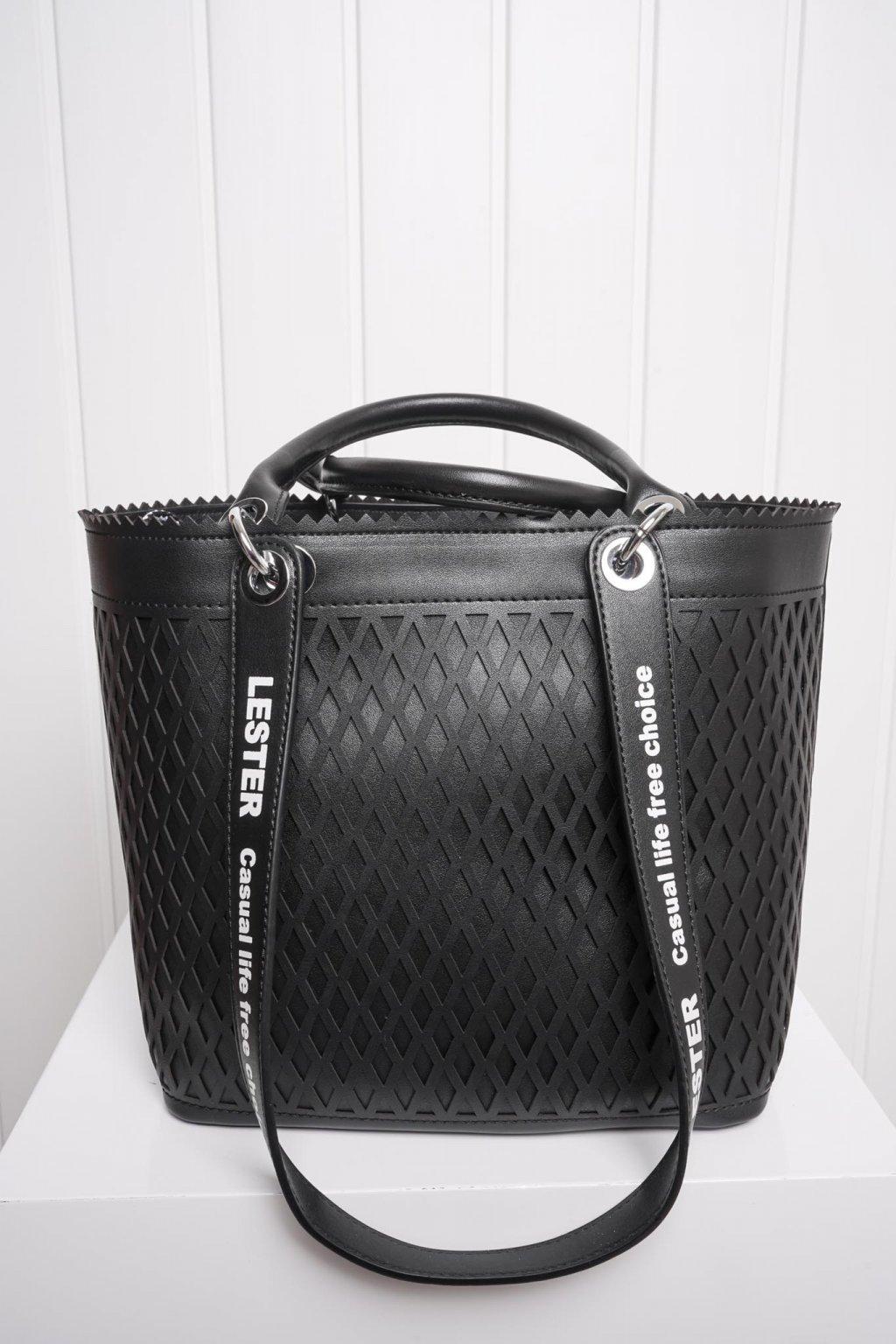 Kabelka, ruksak, dobrá cena, čierna kabelka, čierny ruksak, basic, kabelky, ruksaky 047