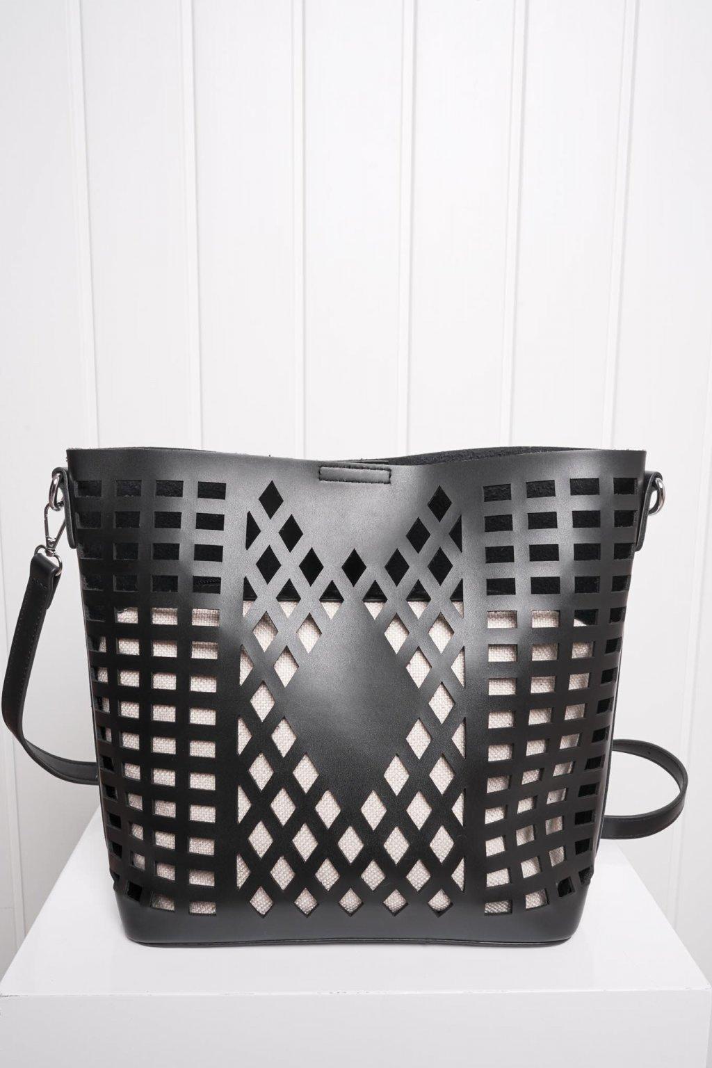 Kabelka, ruksak, dobrá cena, čierna kabelka, čierny ruksak, basic, kabelky, ruksaky 090