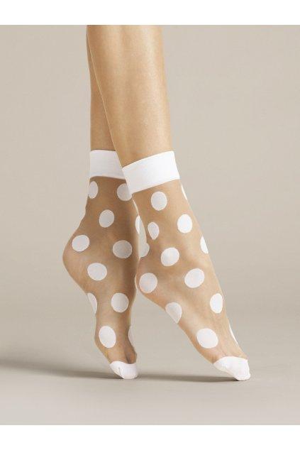 Virginia, silonkové ponožky,bodkované ponožky, vzorované silonky, cribs ponožky (1)