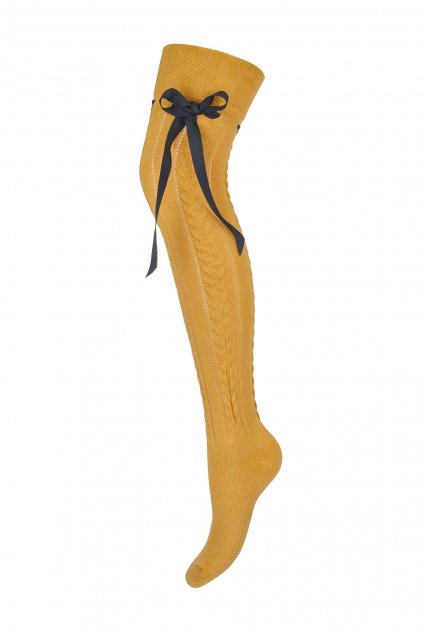 nadkolienky, cribs, ponožky, nadkolienky s mašľou, pletené nadkolienky, pančušky, silonky (3)