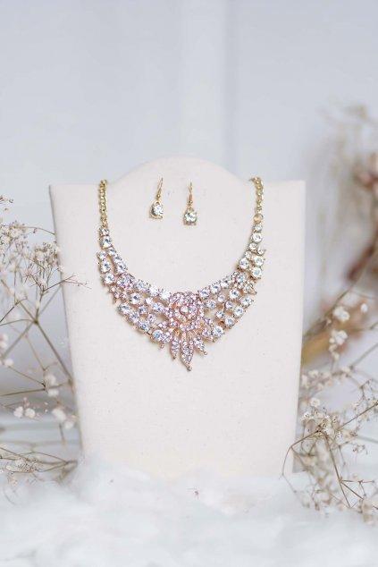 náhrdelník, spoločenský, bežný deň, kamienkový, farebný, čierny, strieborný, zelený, cyklamenévy, náhrdelník, bižuteria, šperk, šperky, ples, stužková, svadba, 085