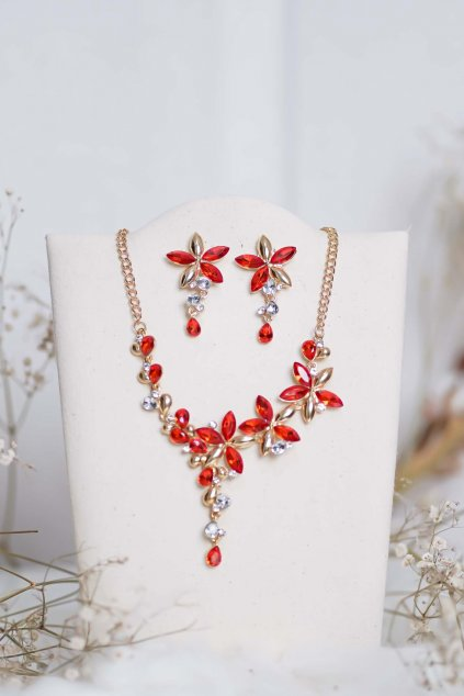 náhrdelník, spoločenský, bežný deň, kamienkový, farebný, čierny, strieborný, zelený, cyklamenévy, náhrdelník, bižuteria, šperk, šperky, ples, stužková, svadba, 070