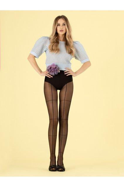 Fiore 20den Tate Modern silonky, pančuchové nohavice, podväzky, samodržky, spodná bielizeň (1)