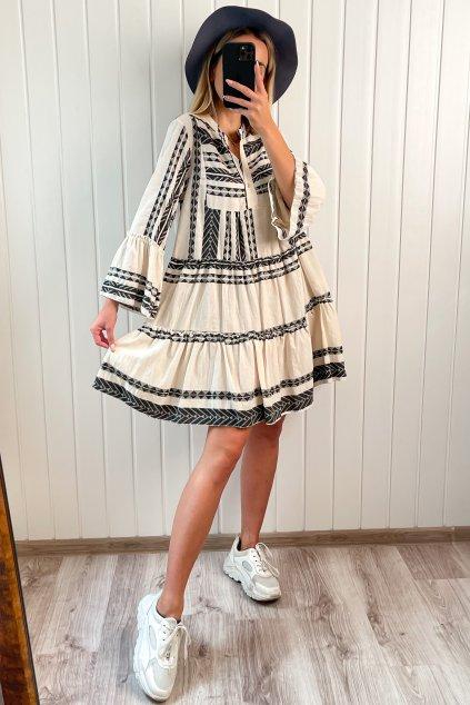 Over-size šaty