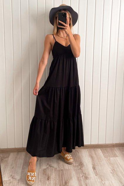 Bavlnené maxi šaty