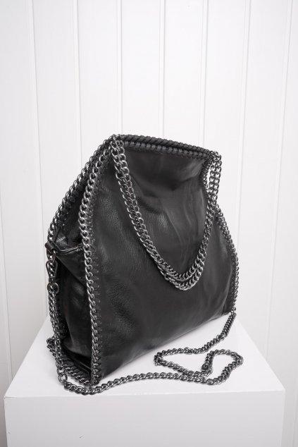 Kabelka, ruksak, dobrá cena, čierna kabelka, čierny ruksak, basic, kabelky, ruksaky 076