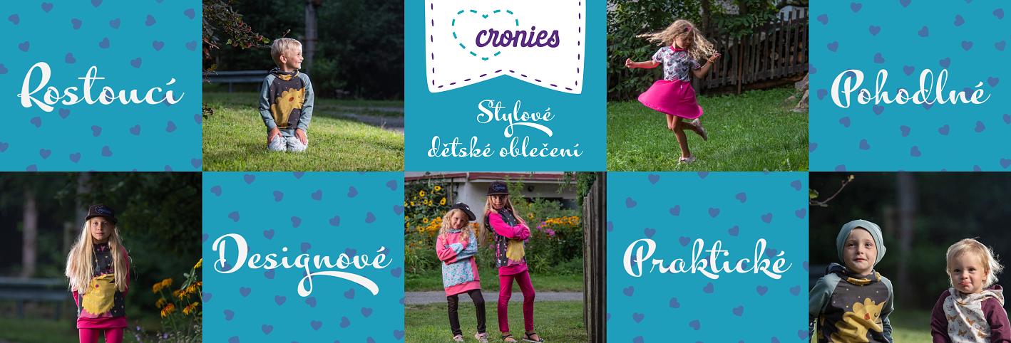 Dětské stylové oblečení Cronies