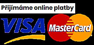 Přijímáme platby online kartou
