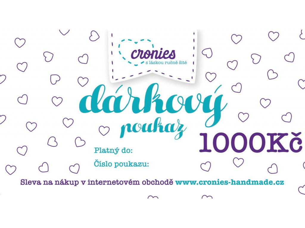 Gift Vouchers Cronies Tyrkys CZ5