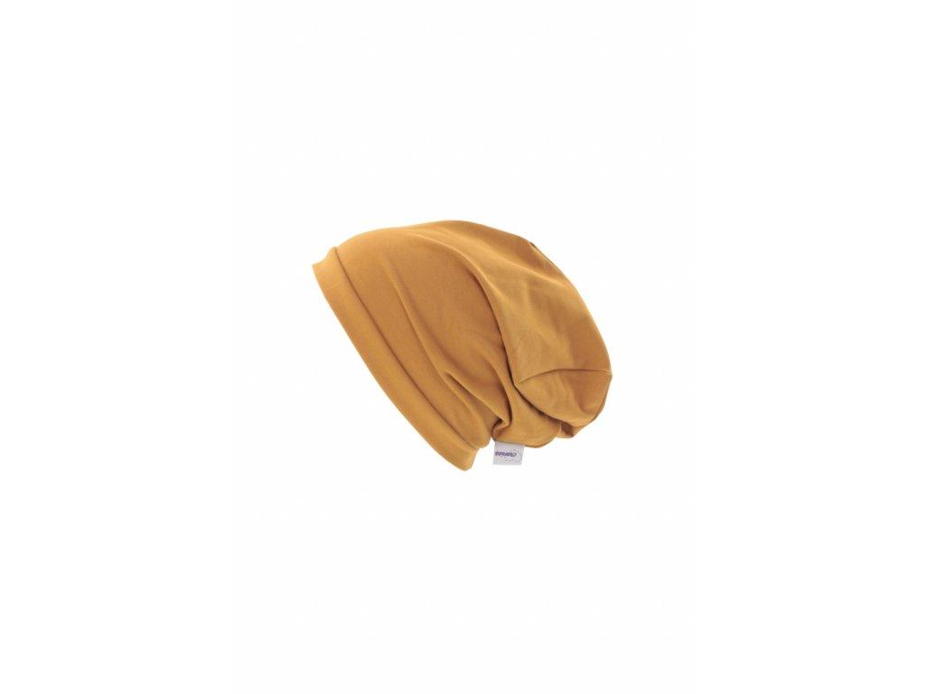Jednovrstvá čepice Okrová