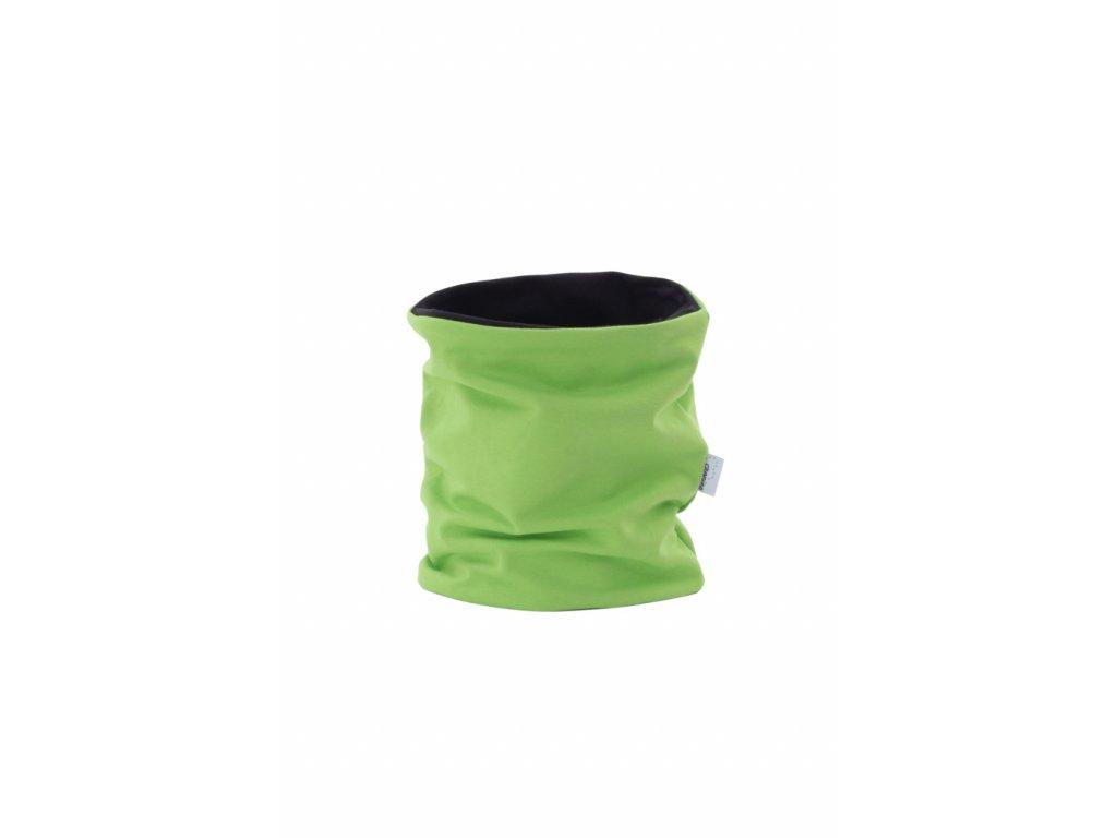 Dvouvrstvý nákrčník Zelený