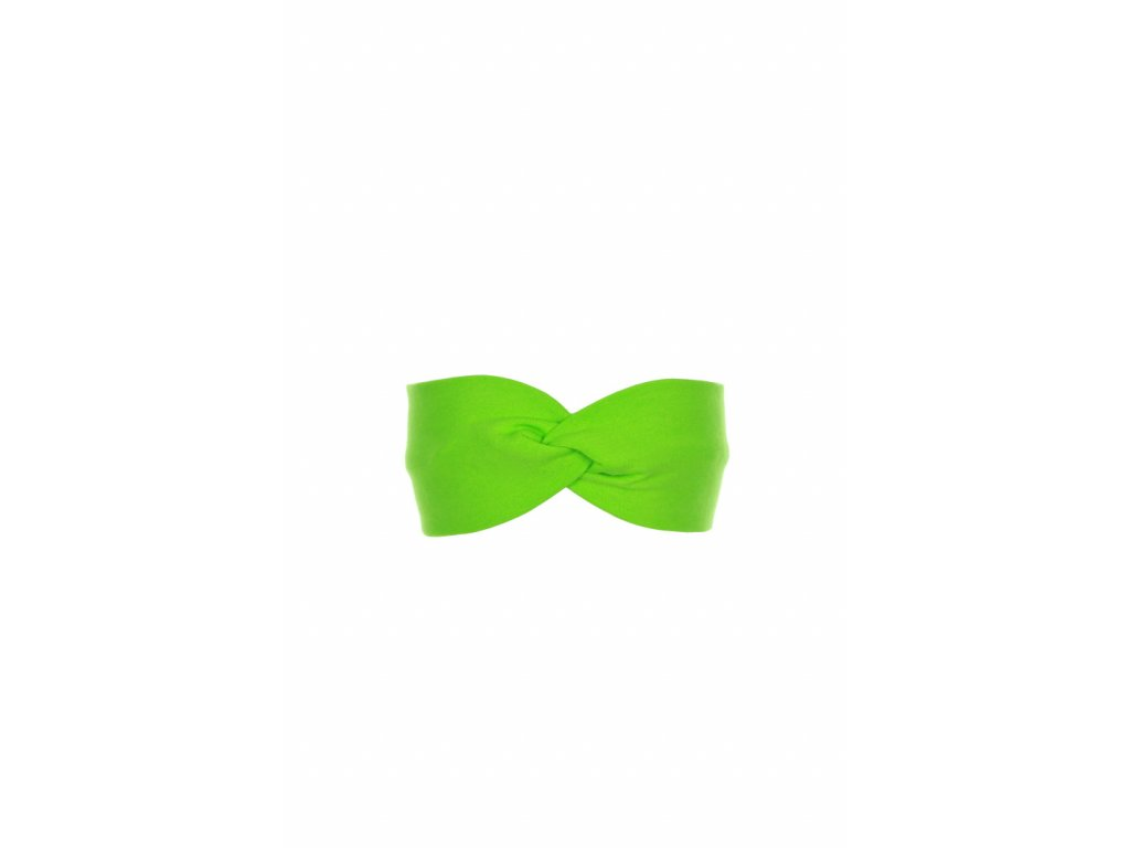 Dětská čelenka Zelená