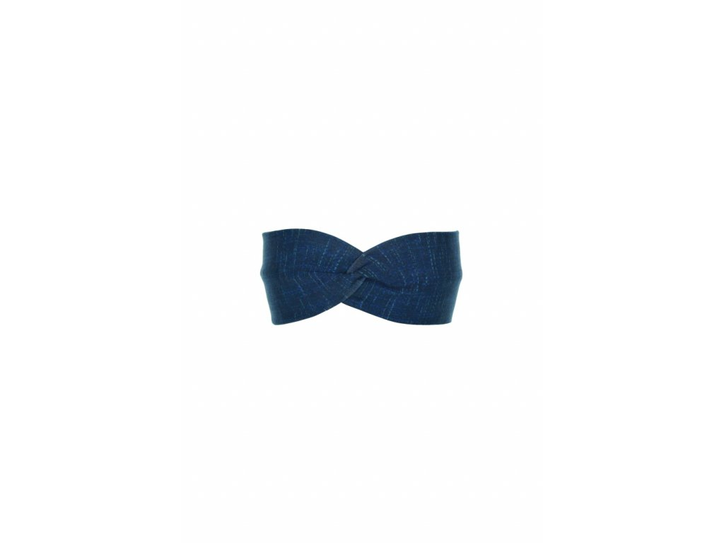 Čelenka Modrá s mřížkou vel. 46-48 cm