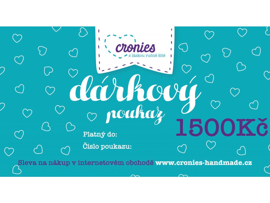 Gift Vouchers Cronies Tyrkys CZ3