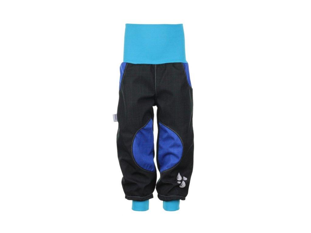 Nepromokavé softshellové kalhoty Modré