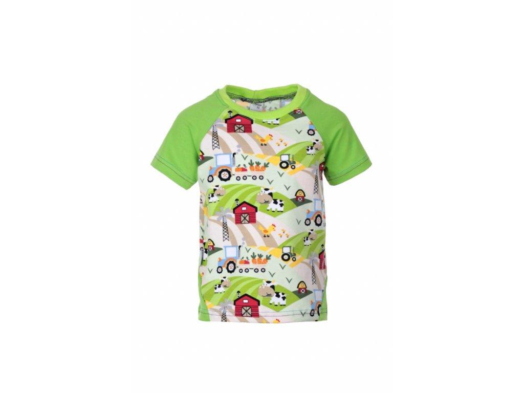 Dětské tričko Na farmě