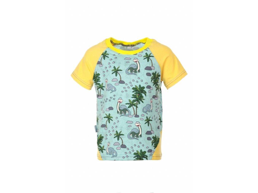 Dětské tričko s krátkým rukávem Dinosauři