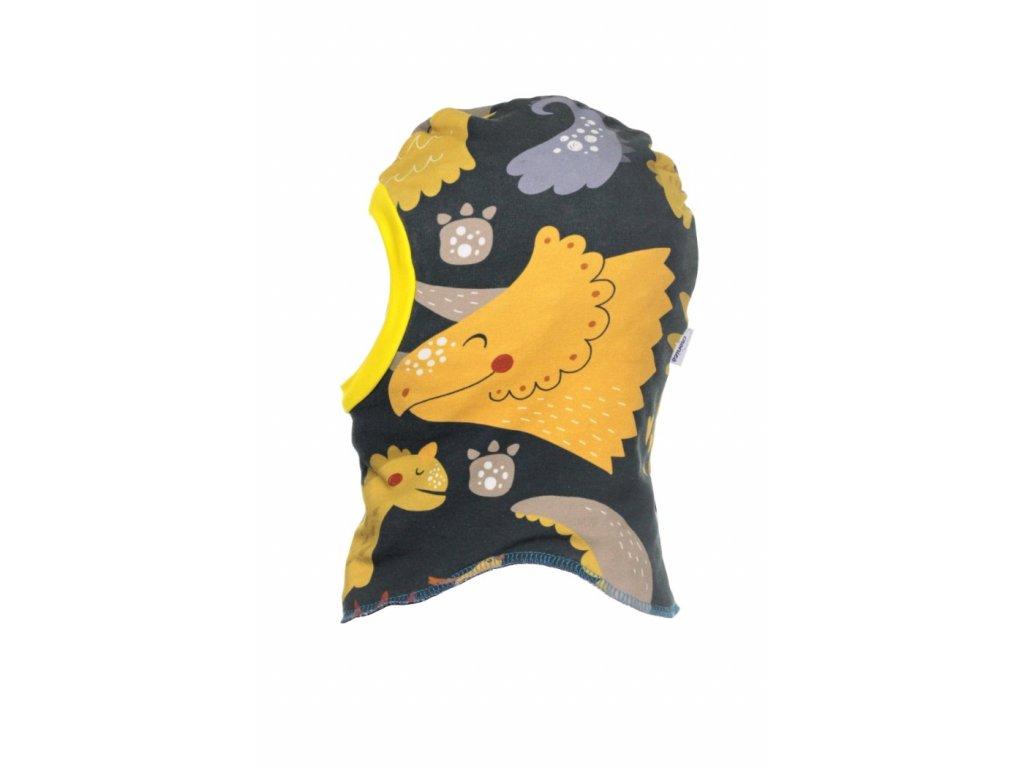 Dětská zimní kukla Dino